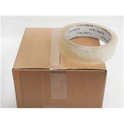 Sticky Tape Clear BOPP 25mm 66m 35mu TCB256635 [Box 144]