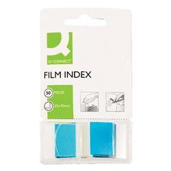 Q-Connect Page Markers Blue 25mm (Pack of 50) Ref KF03632