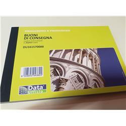 Blocco buoni consegna - Data ufficio - A5 - 11,5x16 cm - conf. 5