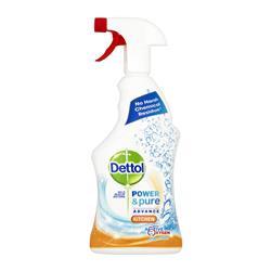Dettol Power & Pure Kitchen Cleaner Spray 750ml Ref RB788776