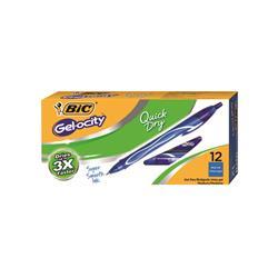 Bic Gel-ocity Quick Dry Gel Pen Medium Blue (12 Pack) 950442