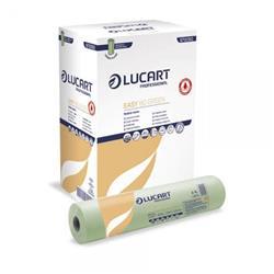 Lenzuolino medico Lucart Easy 80 Green - 2 veli - 80 mt - 216 strappi